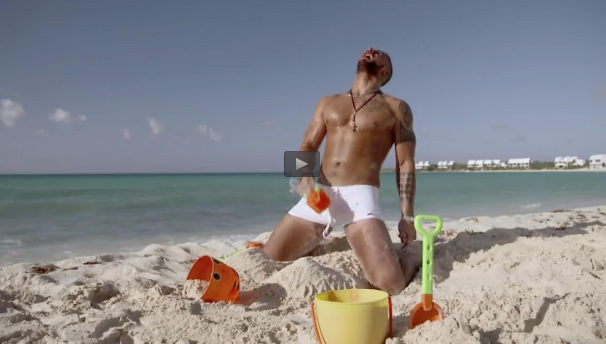 """Andrijano """"Adinatorn"""" Mijanovic och är med för andra gången i """"Ex on the beach""""."""