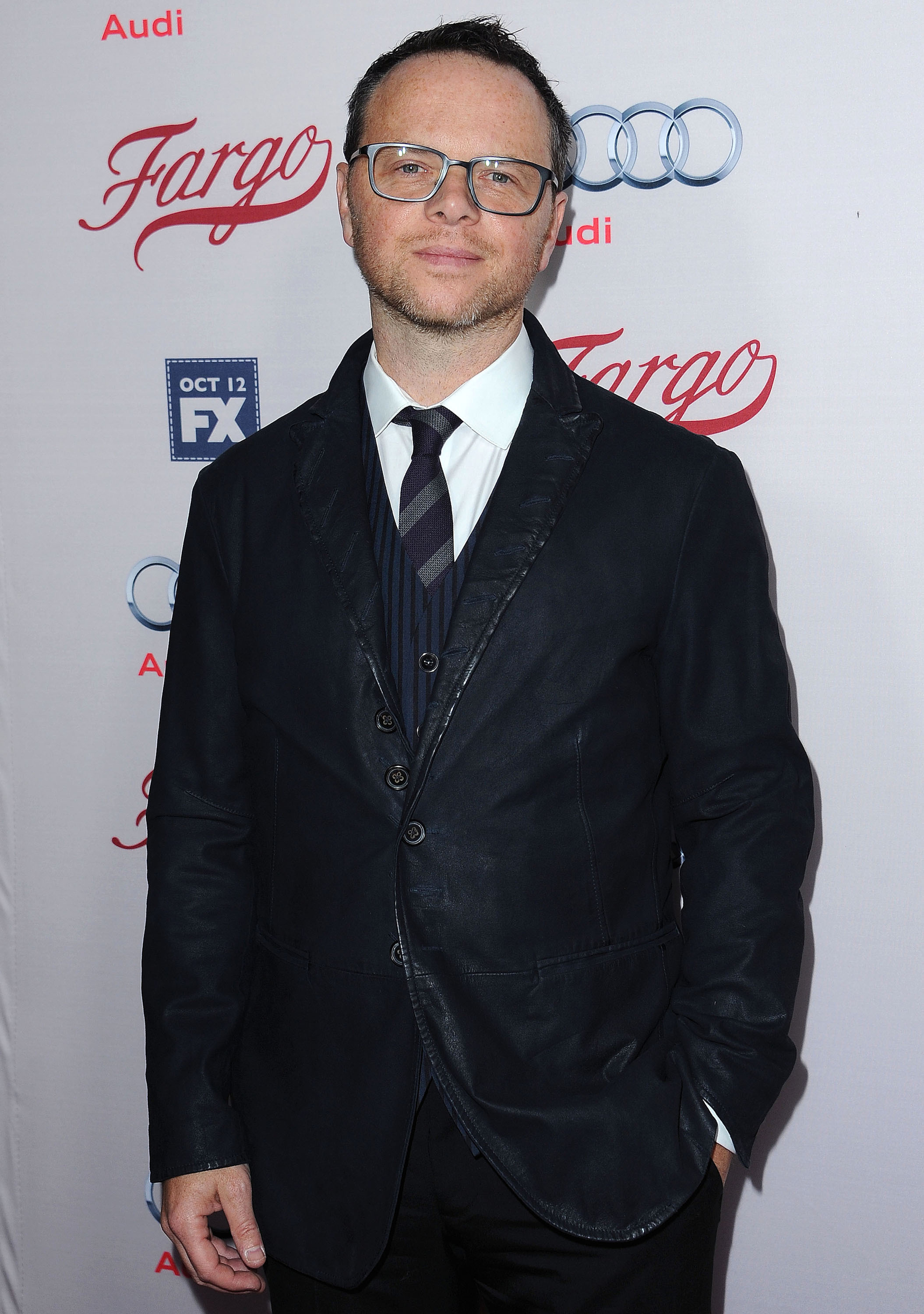 LOS ANGELES - OCTOBER 7:  Executive Producer Noah Hawley arrives at the red carpet premiere screening of FX's 'Fargo' at the ArcLight Hollywood on October 7, 2015 in Los Angeles, California. Cr: Scott Kirkland/PictureGroup/FX
