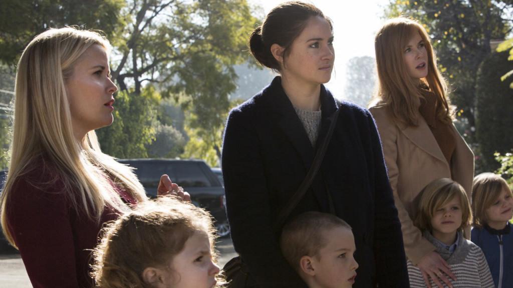 "Reese Witherspoon, Shailene Woodley och Nicole Kidman i ""Big little lies""."