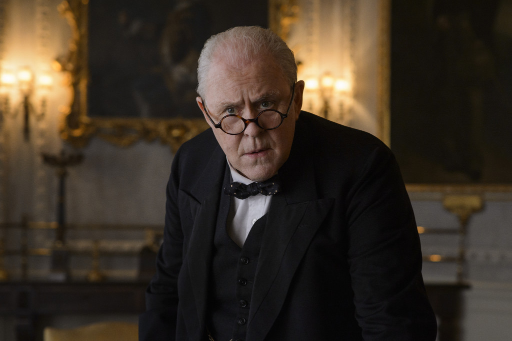 "John Lithgow i ""The crown"", Netflix."