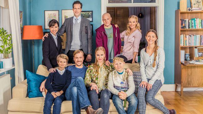 """Bonusfamiljen"". Foto: SVT."