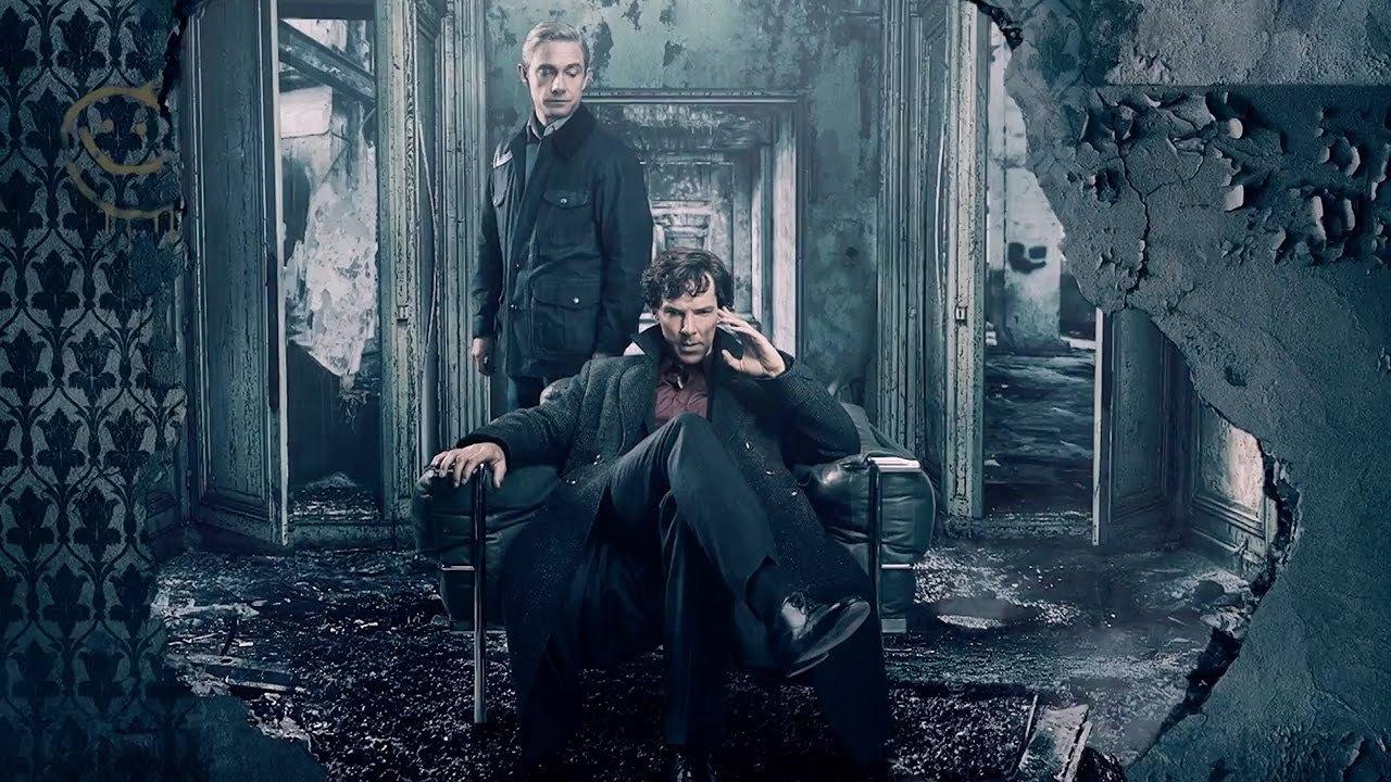 Sherlock Holmes och John Watson.