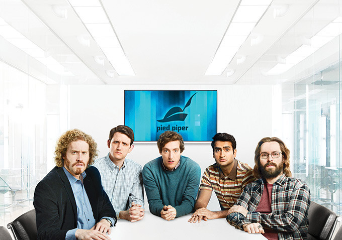 """Silicon Valley"". HBO Nordic."