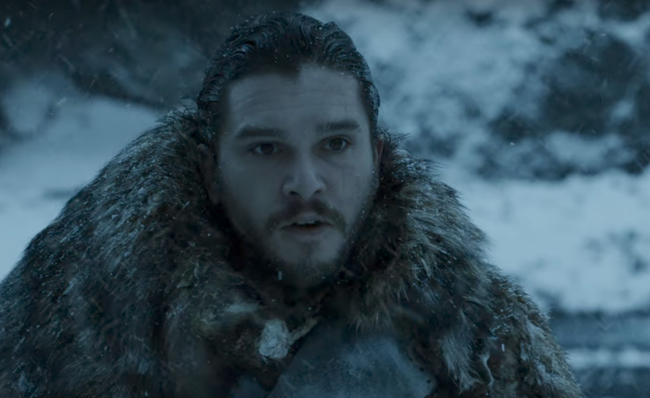 Jon Snow trivs.