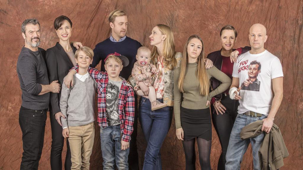 """""""Bonusfamiljen"""", säsong två. Foto: Ulrika Malm/SVT."""