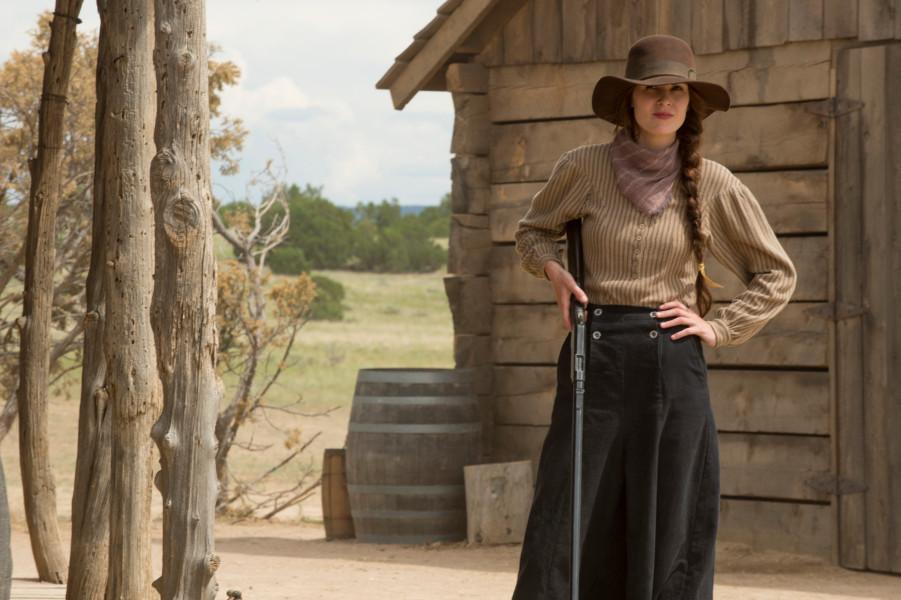 "Michelle Dockery i ""Godless"". Foto: Netflix."