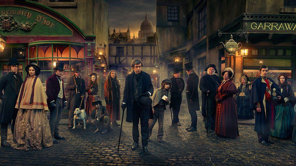"""""""I Dickens magiska värld"""". Foto: BBC."""