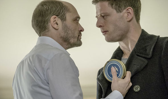 "David Dencik och James Norton i ""McMafia"". Foto: BBC."