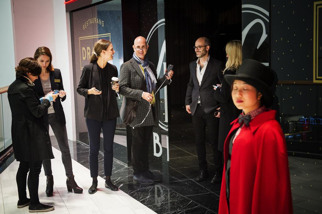 På torsdagsmorgonen bjöd Micael Bindefeld in till pressvisning på Mall of Scandinavia. Foto: Ola Axman