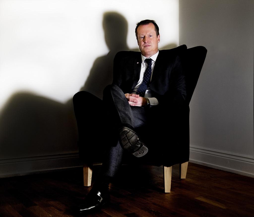 Anders Ygeman var fram till valet förra året en anonym riksdagsledamot. Foto: Lasse Allard