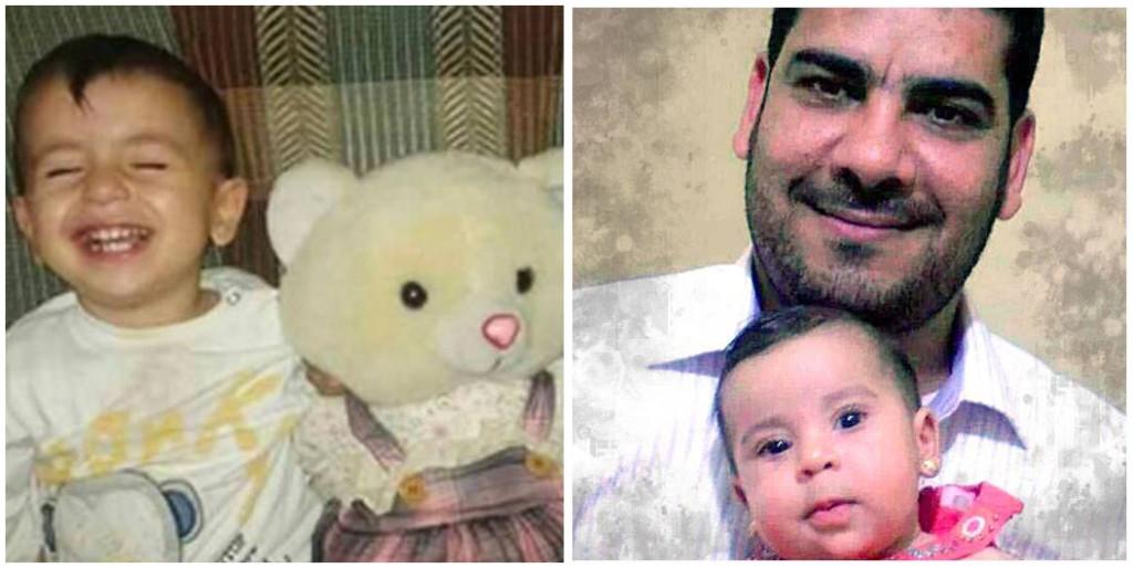 De dog på Medelhavet. Aylan Kurdi, 3, flöt i land död på en turkisk strand. Munawar Alrahils dotter blev bara tio månader.