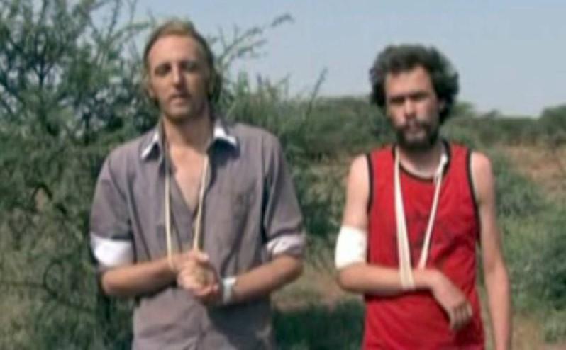 De svenska journalisterna Martin Schibbye och Johan Persson greps i Etiopien och dömdes till elva års fängelse när de försökte göra ett reportage om landet.
