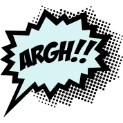 Comic-ARGH!,-Super-Hero,-Cartoon,-Speech-Bubble