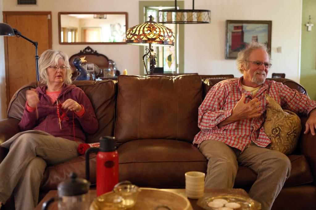 Aletha och Tom Frantz växte båda upp i Shafter.