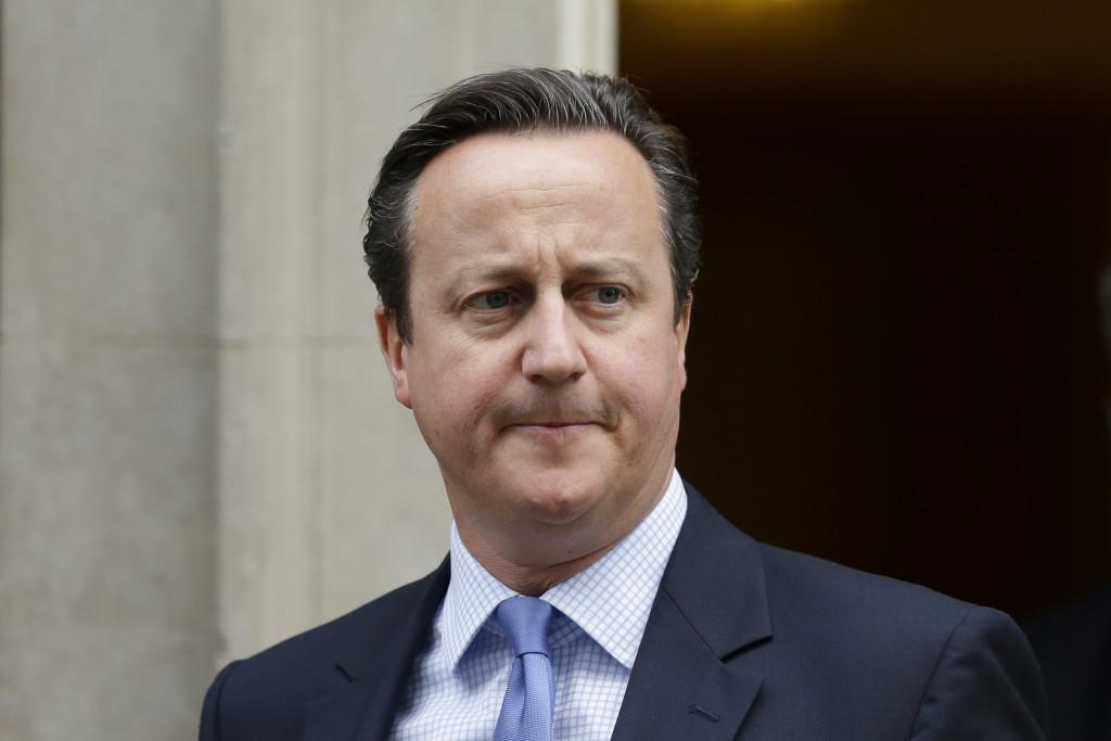 David Cameron, brittisk premiärminister, 1966.