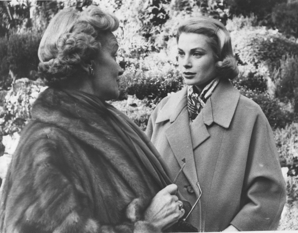 Grace Kelly med sin mamma.