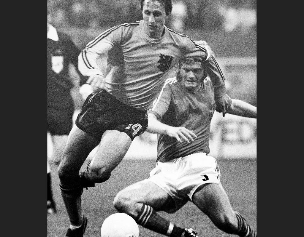 Johan Cruyff, (1947), Holland, fotboll. VM-silver, EM-brons. Holländsk mästare sju gånger, spansk mästare en gång. Europacupvinnare tre gånger. Årets spelare i Europa tre gånger.