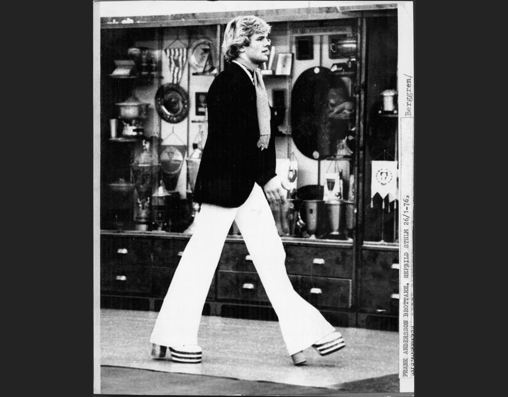 V-jeans, här på stilikonen Frank Andersson.