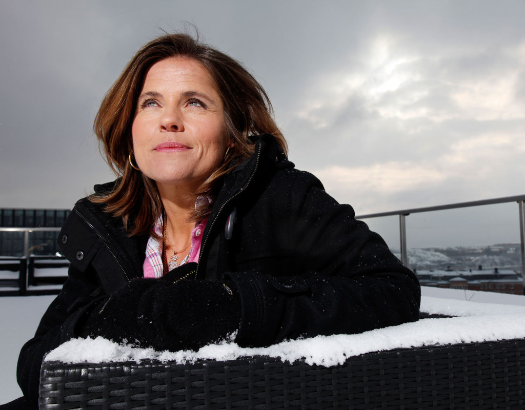 Pernilla Wiberg, slalomåkare, 1970.