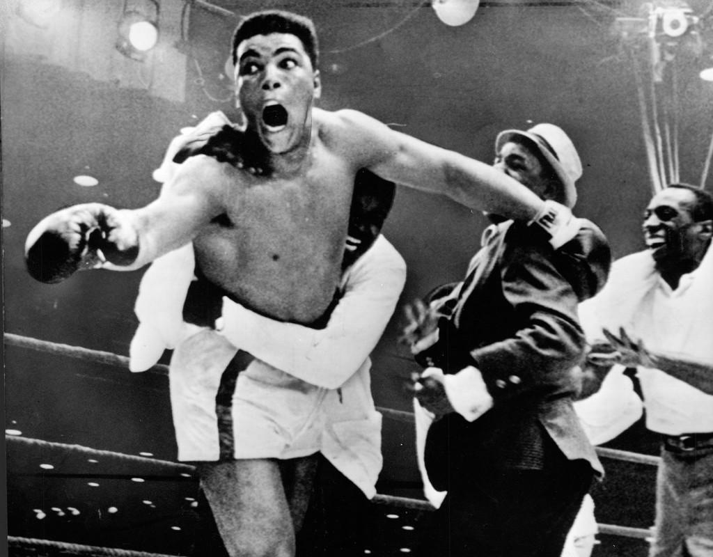 Muhammad Ali, (1942), USA, boxning. OS-guld 1960. Tre gånger världsmästare i tungvikt.