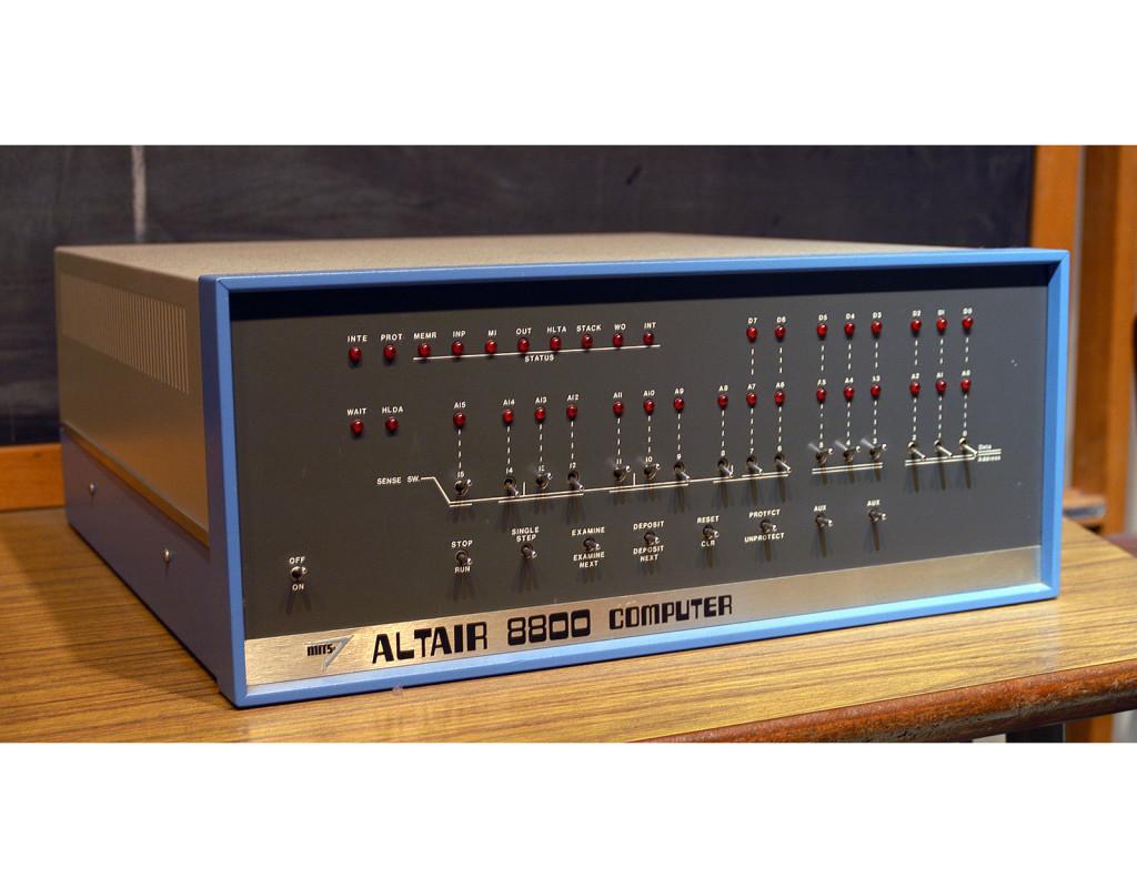 Mikrodatorn AltaIr 8800 (1974)
