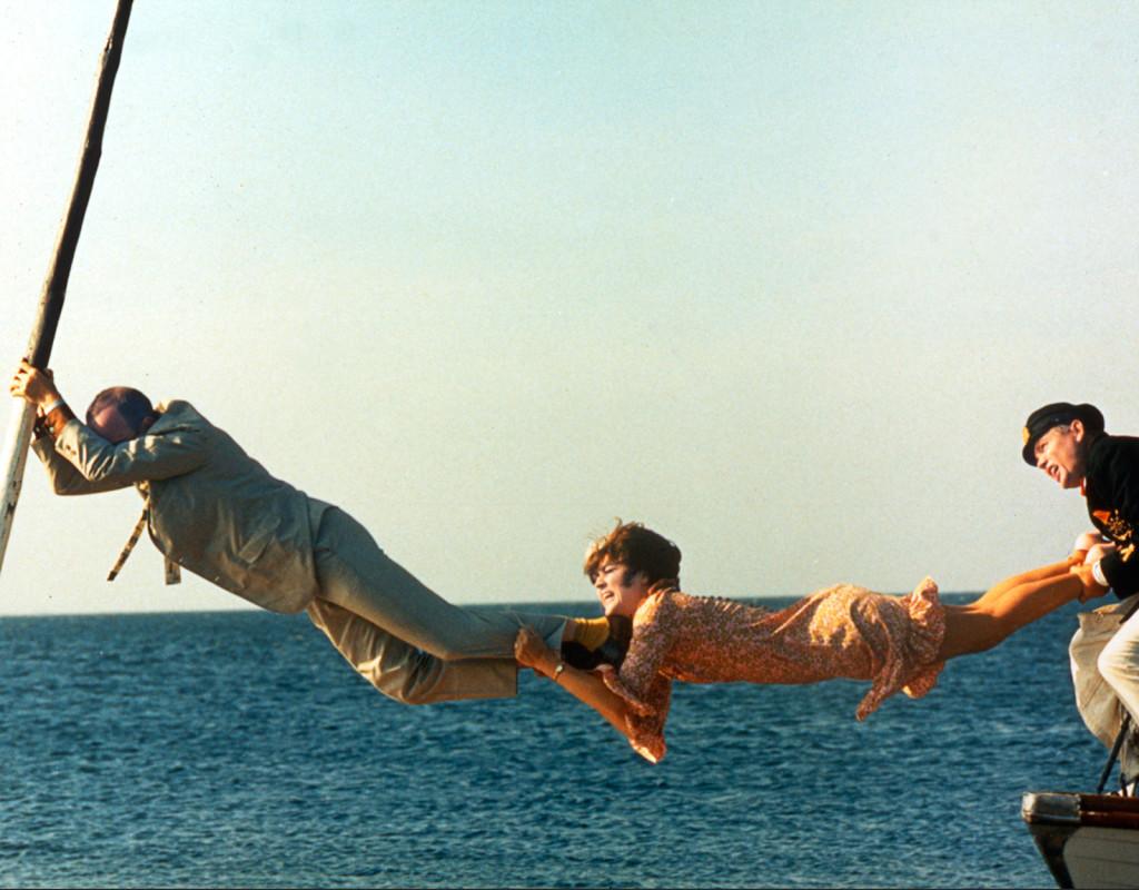 Att angöra en brygga, Tage Danielsson (1965)