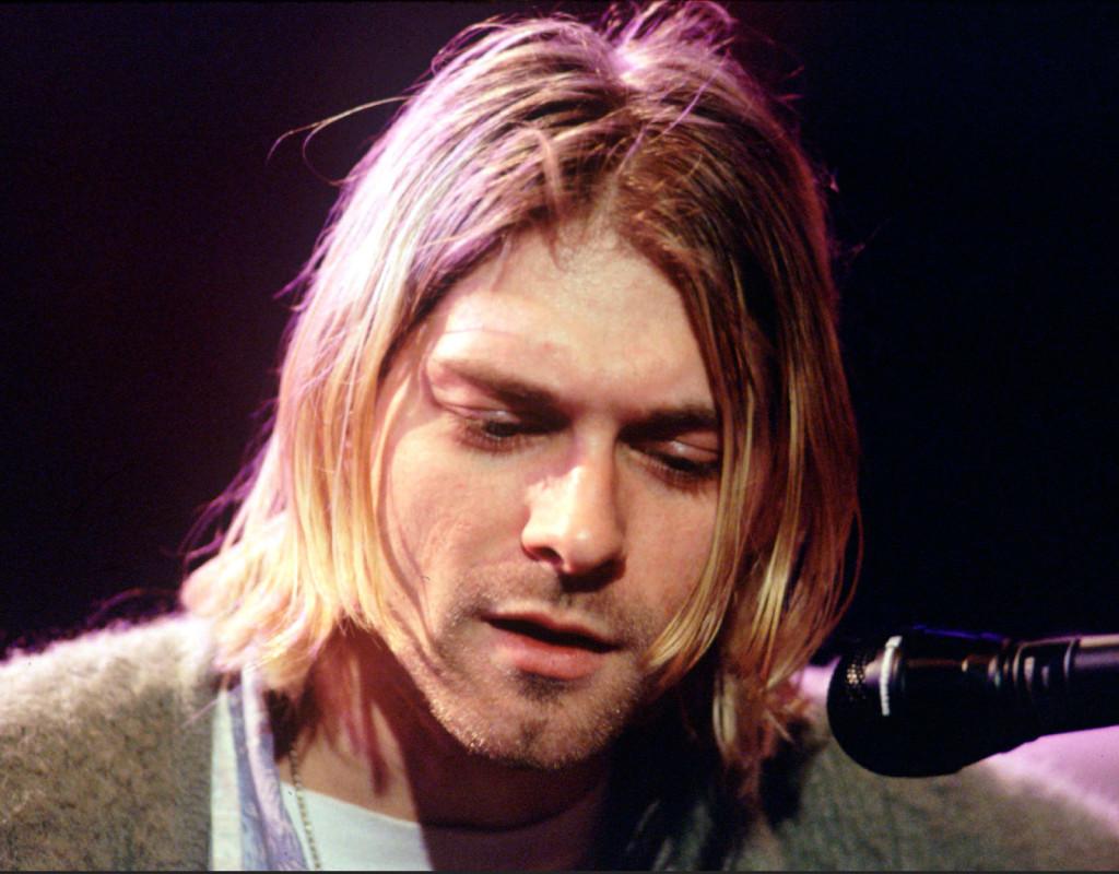 Nirvanas sångare Kurt Cobain, en ikon från 90-talet, sköt sig själv 5:e april 1994. Nirvana slog igenom med sin andra skiva Nevermind 1991 och blev snabbt ett av världens störta grungeband. Foto: AP