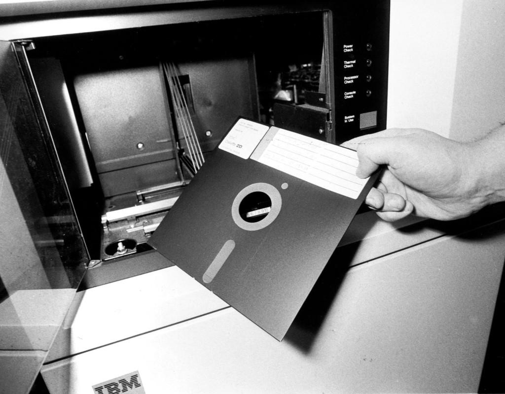 Disketten, lanserad av IBM (1971)