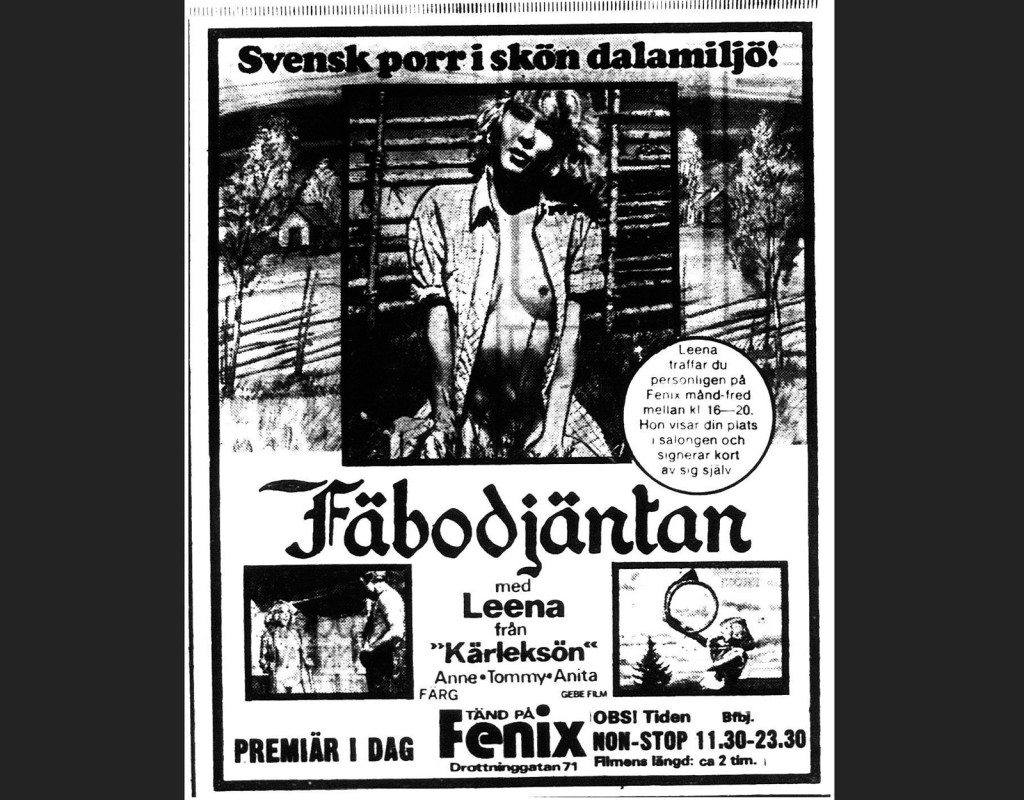 Fäbodjäntan, Joseph W. Sarno (1978)