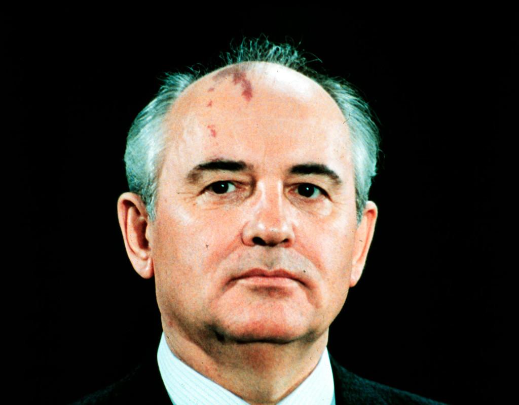 Michail Gorbatjov, ordförande för Sovjetunionens kommunistparti.