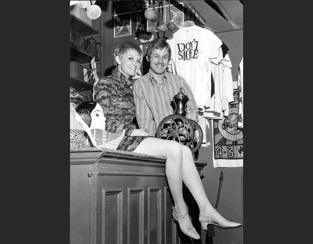 Märket Gul&Blå (första butiken 1966)