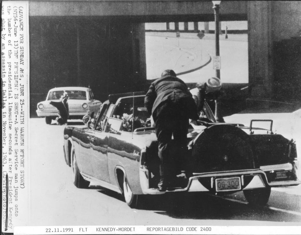 Ett datum alla som var med minns: Den 22 november mördas USA:s president John F Kennedy i Dallas. Foto: AP