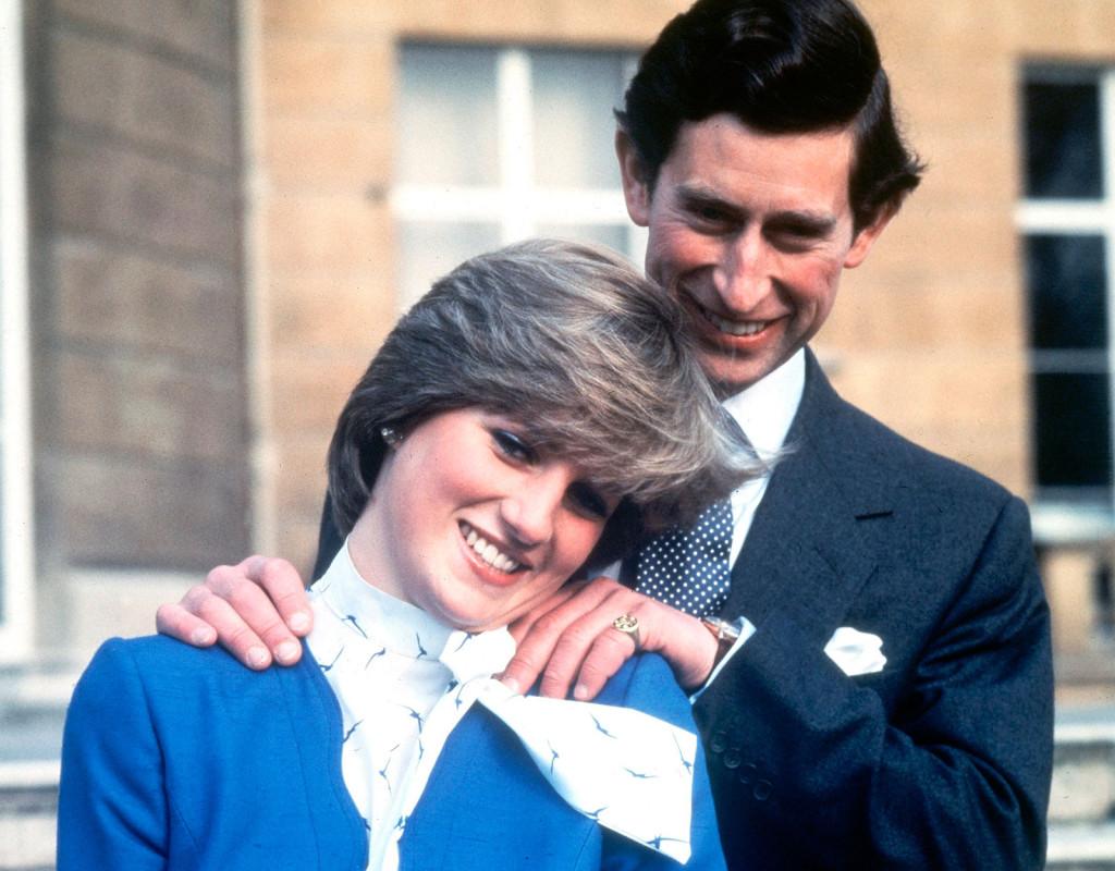 Prinsessan Diana, brittisk prinsessa och prins Charles.