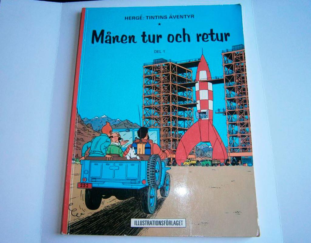 Tintin, Månen tur och retur, Hergés (1953)