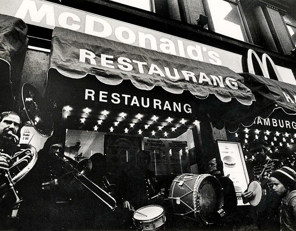 Sveriges första McDonald's öppnade 1973
