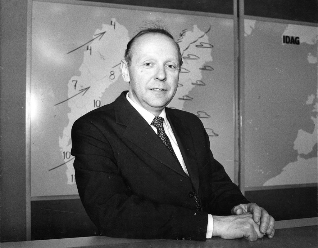 John Pohlman, meteorolog.