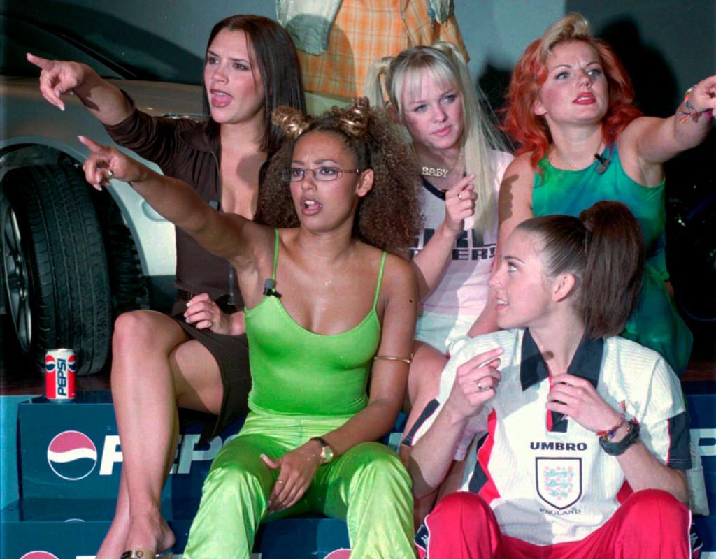 """Brittiska musikgruppen Spice Girls slog igenom 1996 med låten """"Wannabe.""""  Gruppens fem medlemmar kom att stå för girlpower, för en hel generation unga tjejer. Foto: Sofia Ekström"""