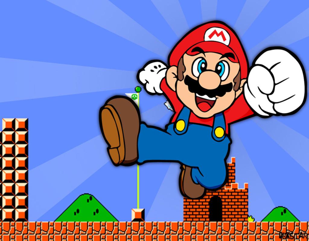 """TV-spel, som """"Super Mario"""" och """"Gameboy"""" (årets julklapp 1992)"""