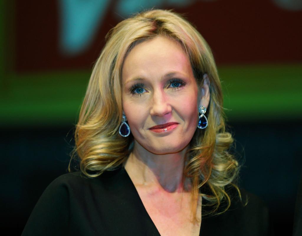J. K. Rowling, författare, 1965.