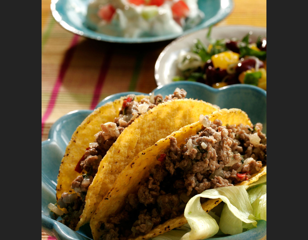 Mums! Fredagsmys med Tacos. Under 90-talet kändes tacos nytt, fräscht och exotiskt. Foto: Katrin Jacobsen