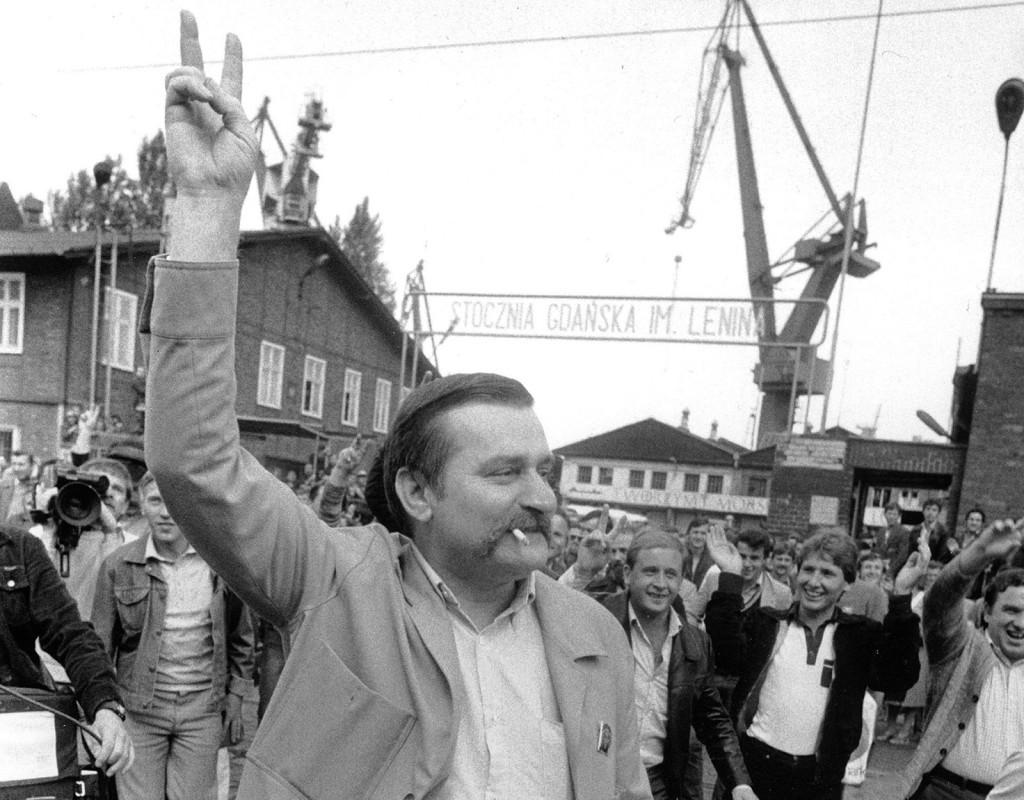 Lech Wałęsa, polsk politiker.