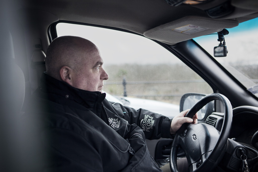 20160211 Karlskrona. Magnus Berg har levt ensam i 25 år.  Foto: Jonas Eng