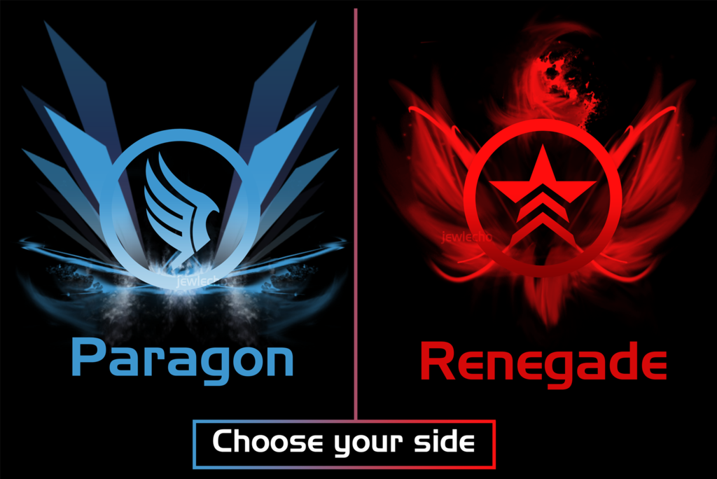 paragon or renegade