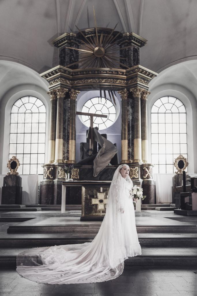 Bruden, ur Ikoner - en utställning om att få finnas, ett samarbete mellan Fotografiska och Glada Hudik-teatern. Foto: Emma Svensson.