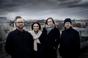 foto : stemat : polisgranskning eric tagesson, mira mircic, linda hjerten och anders johansson