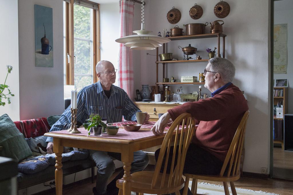foto : joneng : 20160405 malmš. till serie om Šktenskap/ Škta paret claes och šivind som kŠmpat fšr sin rŠtt  till kŠrlek sedan 60-talet.   foto: jonas eng