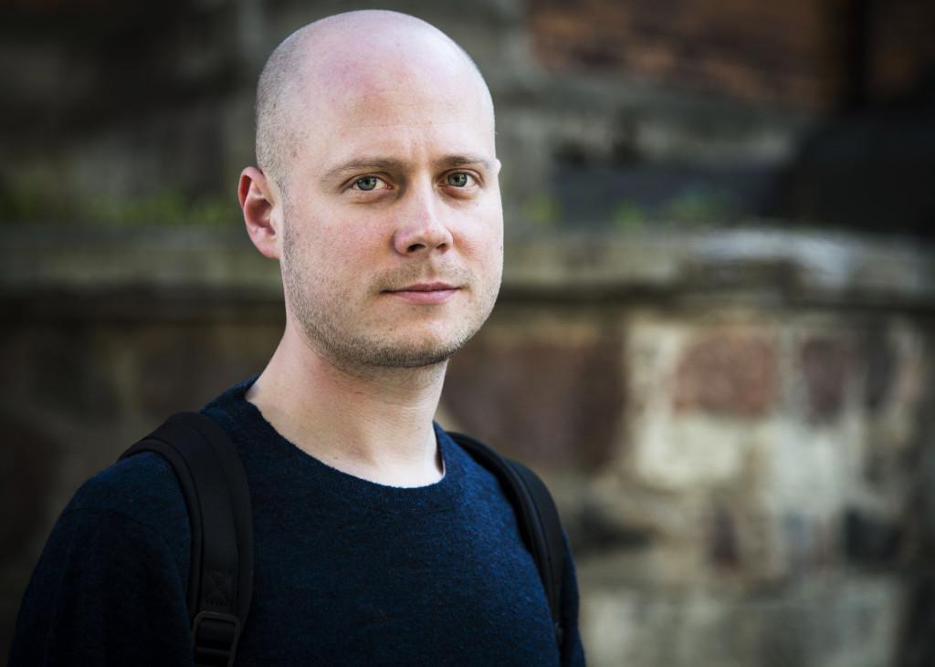 Ivan Kolpakov, rysk journalist i Riga.