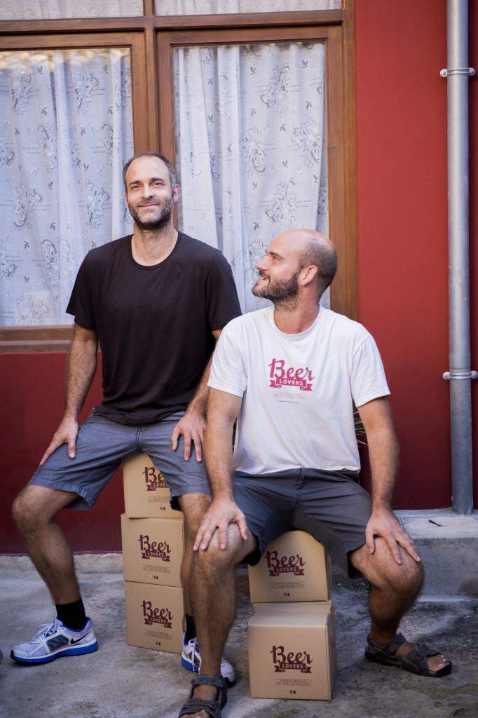 Miquel och Felipe Amorós Crawford, Beer lovers