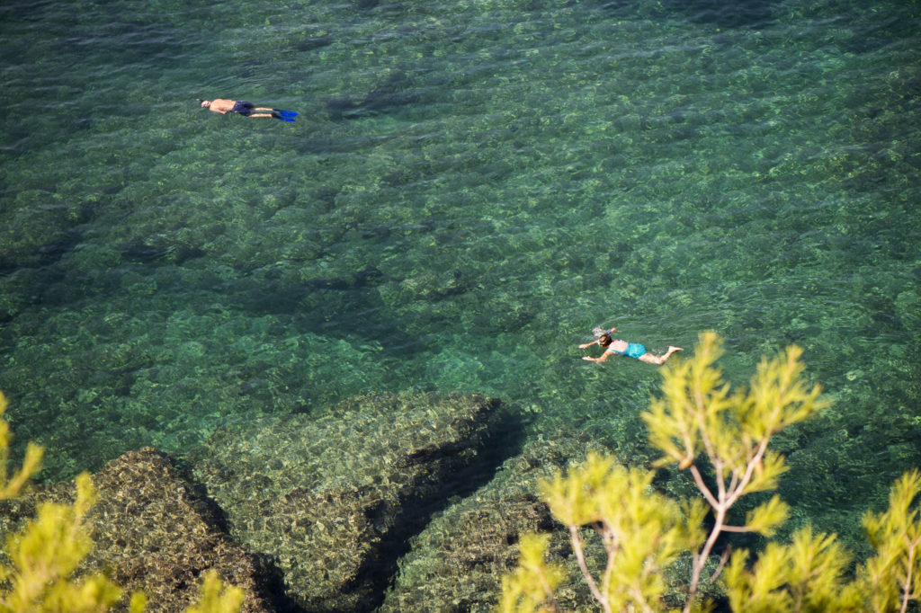 Snorkling i Tramuntana