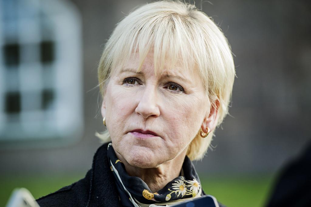 Internationell nedrustning är en av profilfrågorna för utrikesminister Margot Wallström (S).